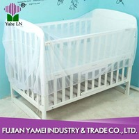 King size circular baby bed with cradle mosquito net