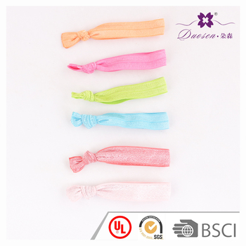 Latest Design Hair Accessories Eco-friendly Elastic Hair Tie with Knot 12c22a8db88