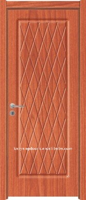 Interior Angular PVC Wooden Door