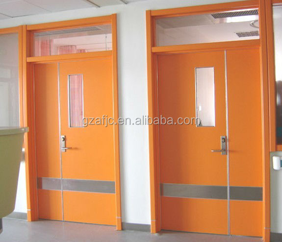Okm Hospital Theatre Operating Room Doors Air Metal For Operation Clean Door