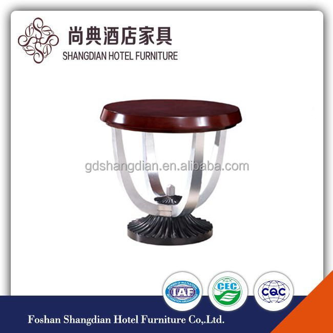 Wooden Material and Coffee Table Specific Use Moroccan end table