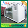 Guangxi good design low cost prefabricated ready made container house