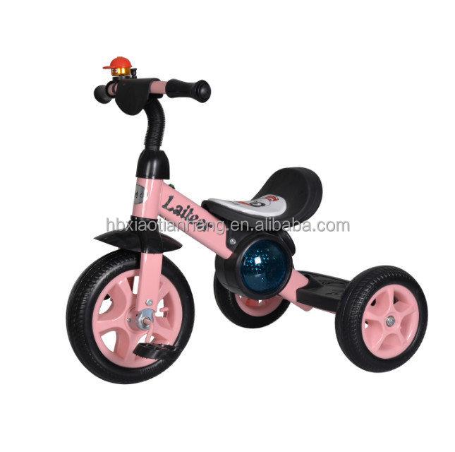בלתי רגיל לילדים מתנה! 3 גלגלים תלת אופן, 2 גלגלי אופני איזון, אתחול בקלות GH-02
