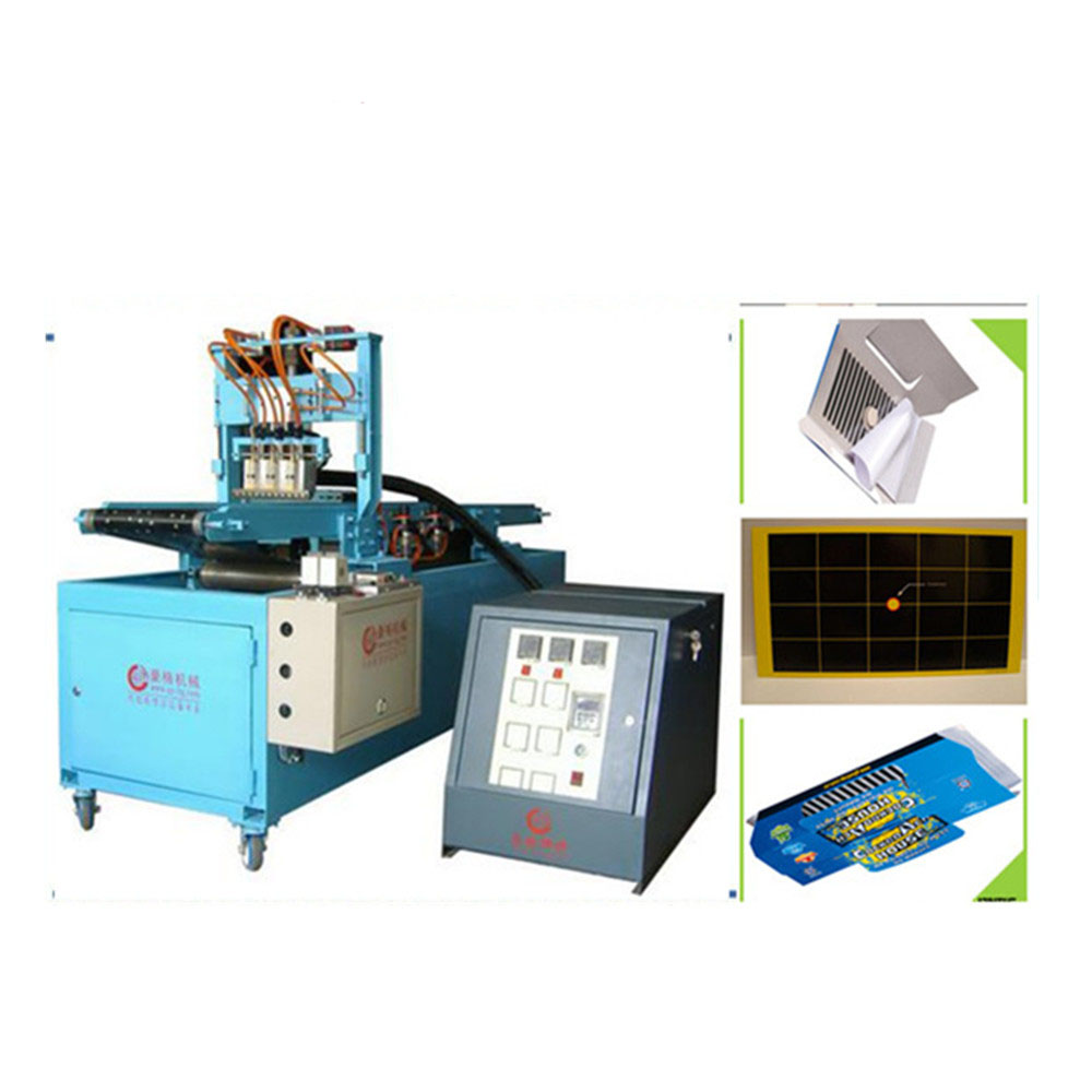 Hot selling fortified type hot melt mouse sticky glue board making machinery(can make 210-800mm)