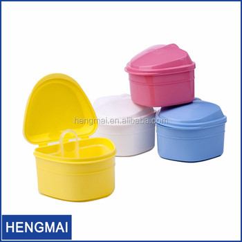 Dental Material Retainer Case Teeth Plastic Tooth Storage Box For