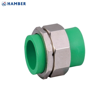 Hb P 027 Plastic Pp R Plumbing Water Pipe Ing Ppr Double Union