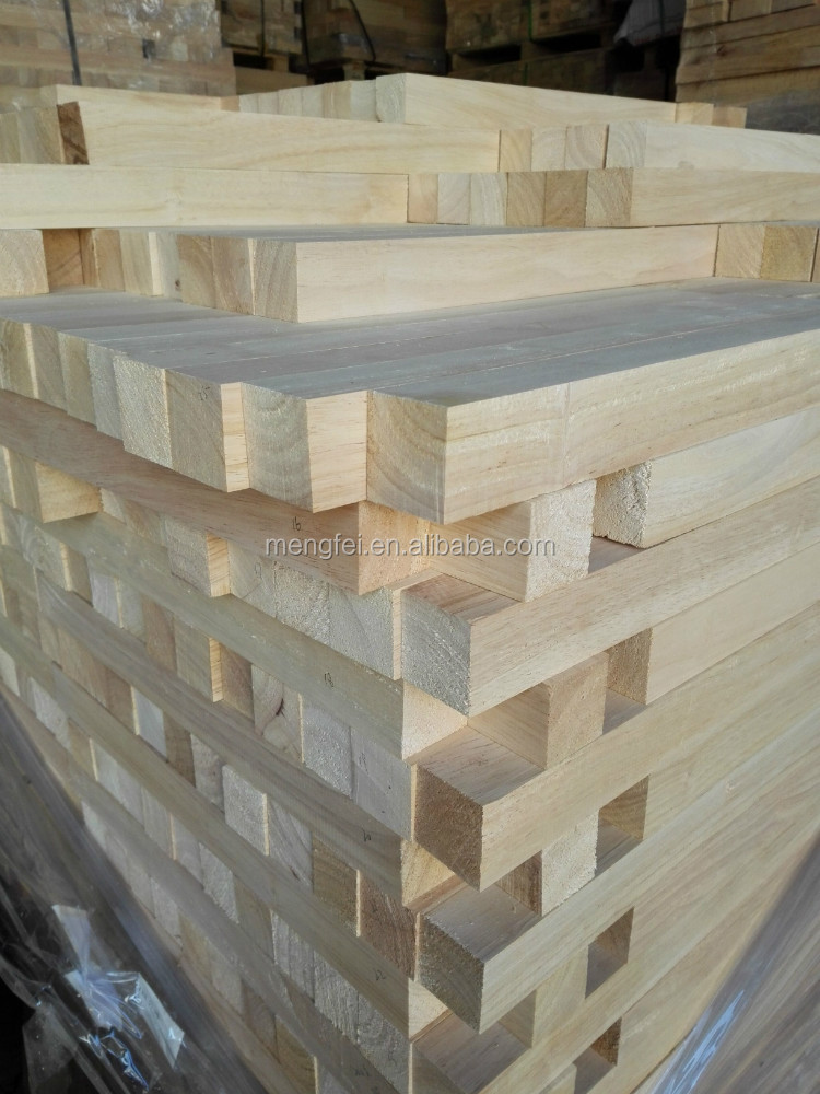 2016 hot sales rubber wood
