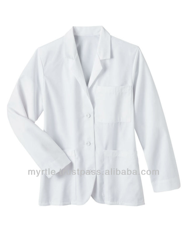 Lab Coat / Hospital staff Uniform coat / Hospital Wears / Doctor Coat