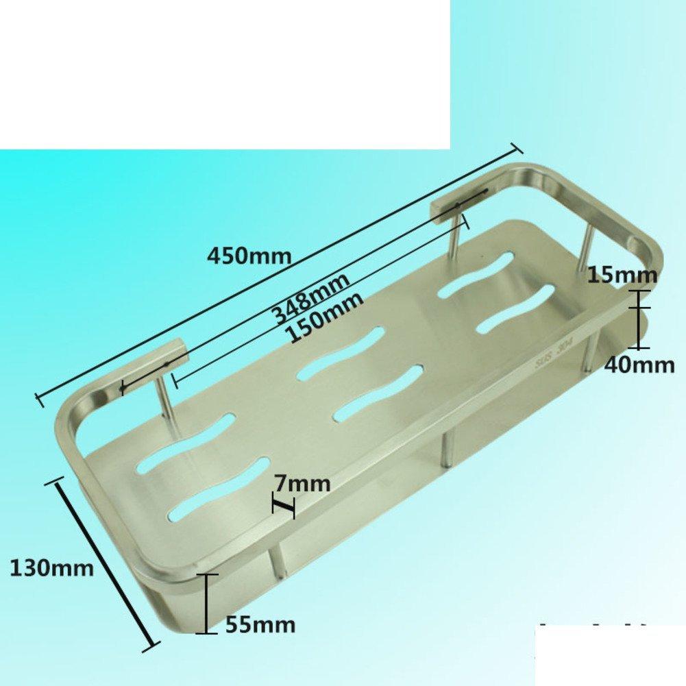 Stainless steel triangular basket/Double-pod/Racks/Bathroom corner rack/Bathroom corner brackets/Racks-F