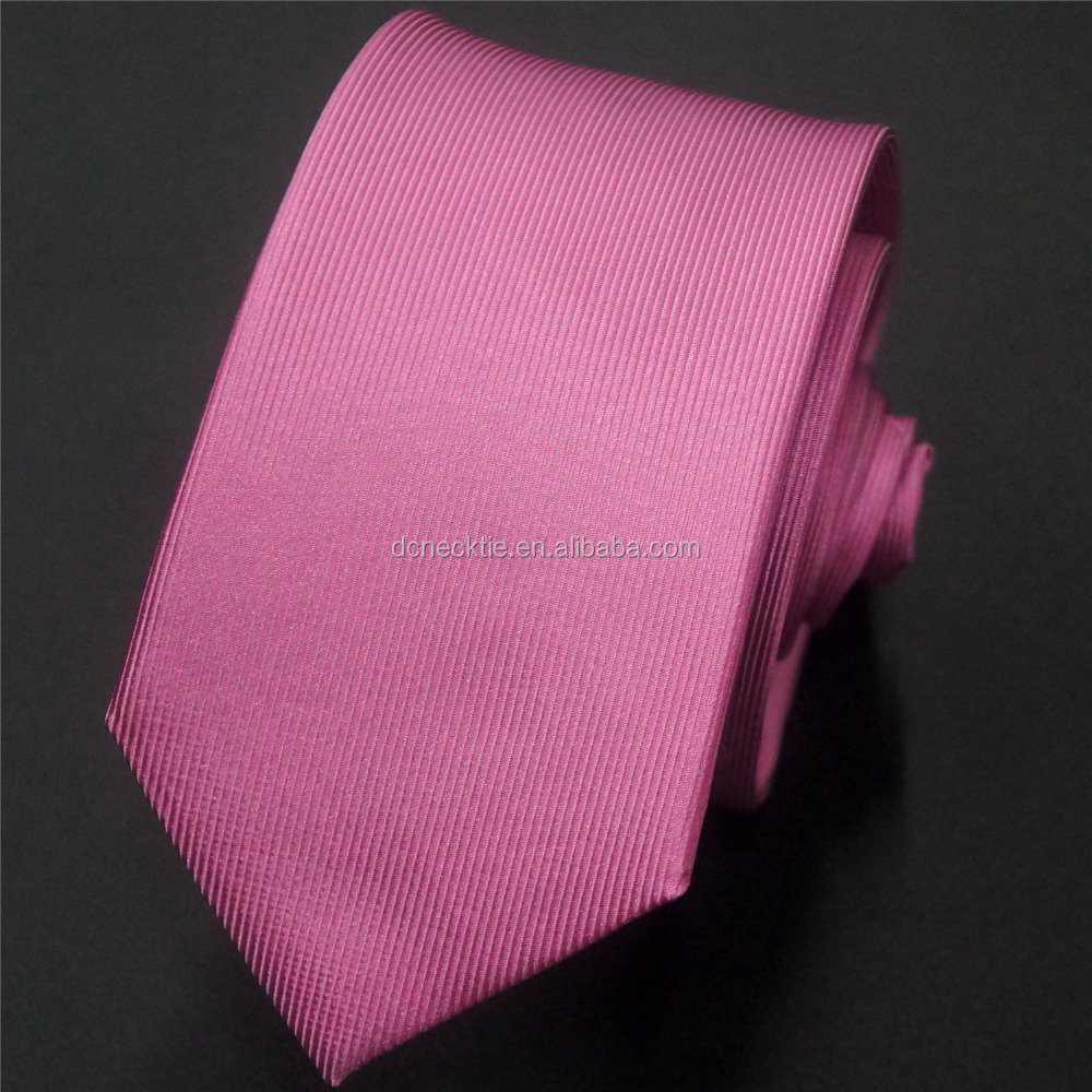 for pink party match ladies shirt for men solid tie