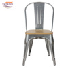 popular commercial classic metal restaurant dining chairs in hotel furniture