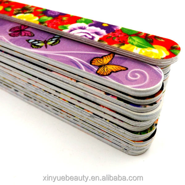 High Quality Nail File Emery Board Promotion Christmas