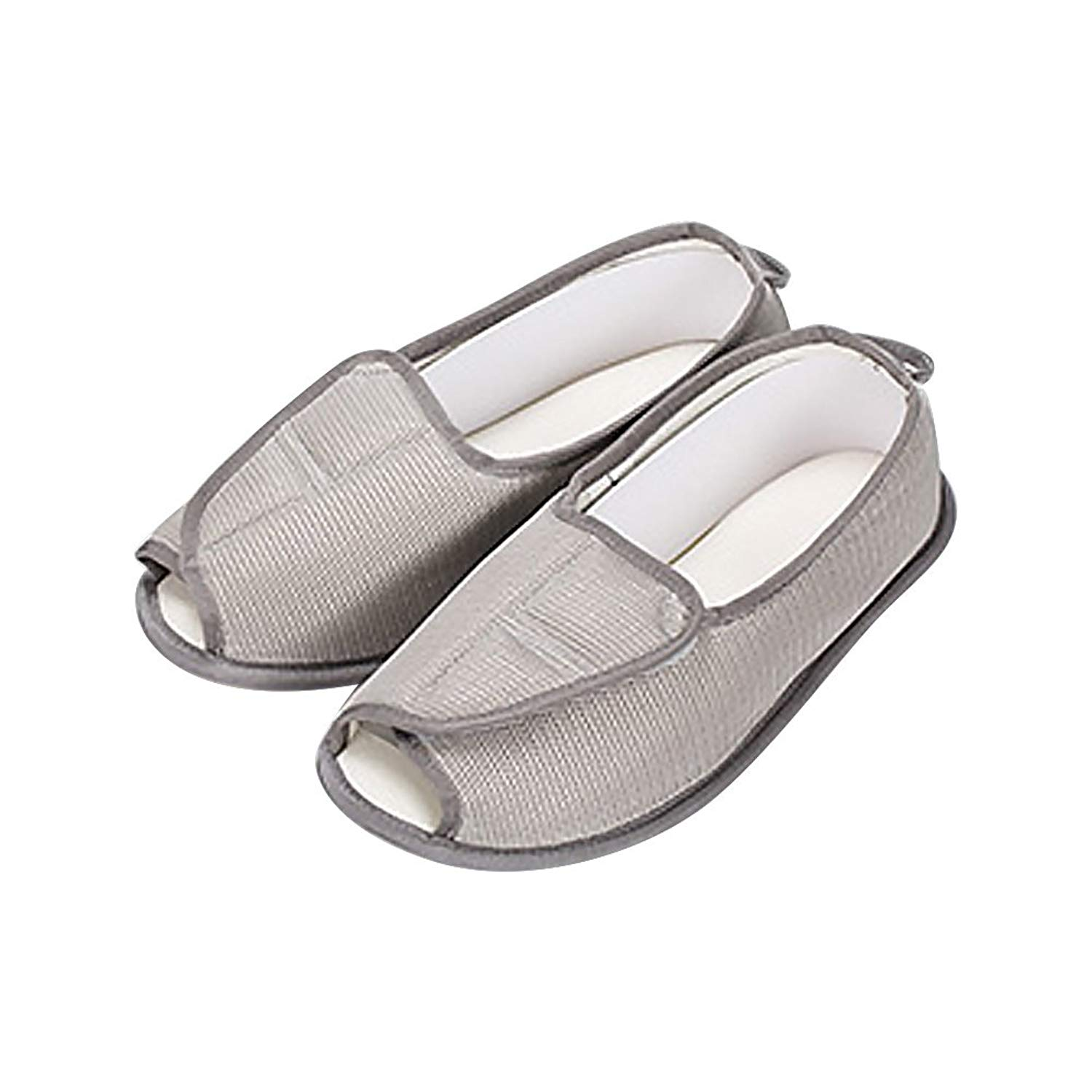 2e3bad09b0c6 Get Quotations · Women s Diabetic Slippers Arthritis Edema Adjustable Memory  Foam Comfortable Slippers Extra Wide Shoes
