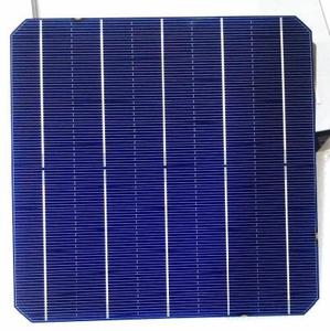 China topsky hot selling mono solar cell 5BB 20% high efficiency