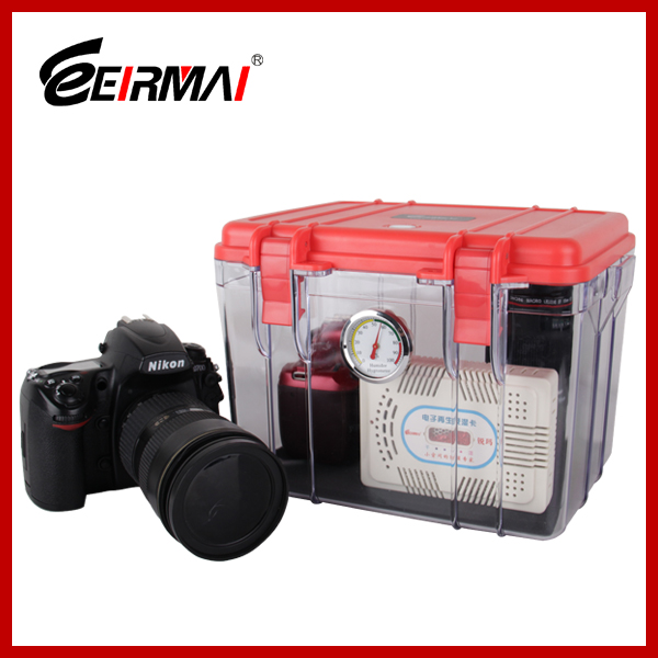 Camera storage dry box moisture-proof cabinets dry box for protecting camera lens dessicant dehumidifiers