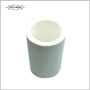 mullite alumina ceramic tube / pipe / rod / bend / elbow / tee for factory