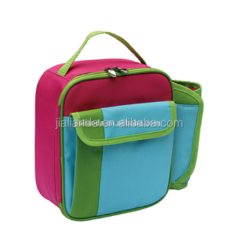 Kids Insulated Lunch Bag With Bottle Holder Jld 1790 Nsulated Product On Alibaba
