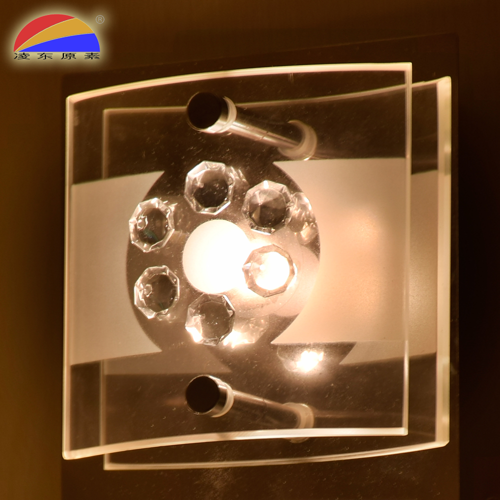 LED COB 5W surface mounted ceiling light lamp with glass lampshade