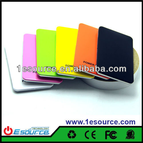 Touch screen rechargeable portable power bank 4400