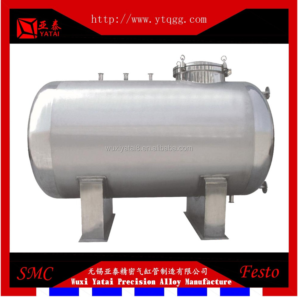 Horizontal Typle Stainless Steel Tank for Pharmaceuticals, Food, Chemicals