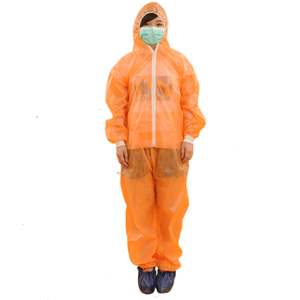 disposable women safety coveralls