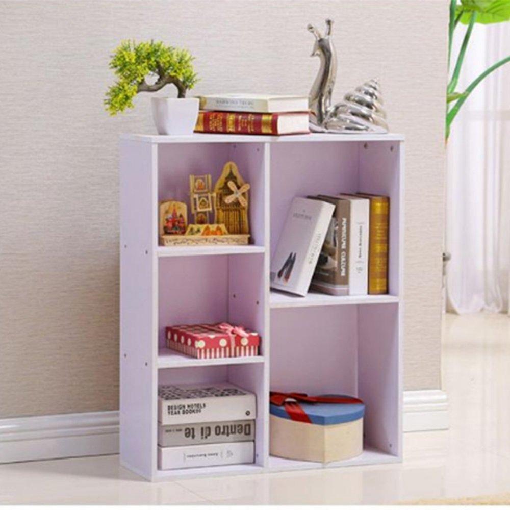 LQQGXL Storage and organization Simple shelves Multi-purpose shelves Simple student combo flooring Creative children's bookshelf (Color : C)