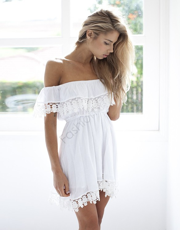 Off the Shoulder Casual Dresses