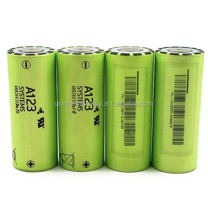New coming !! lifepo4 A123 anr26650m1b battery cell 26650 70A battery A123 26650 lifepo4 battery ANR26650M1B use for flashlight