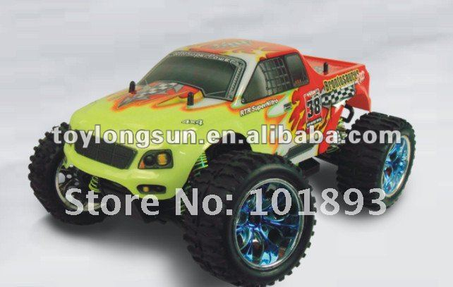 Children weekend fun model ERC111 1/10th scale 4WD Electric Power rc Monster Truck