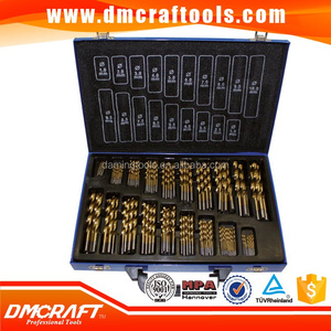 170 pc HSS Drill Bits Set 1-10mm 170pcs Quality Drill bits in Metal Case
