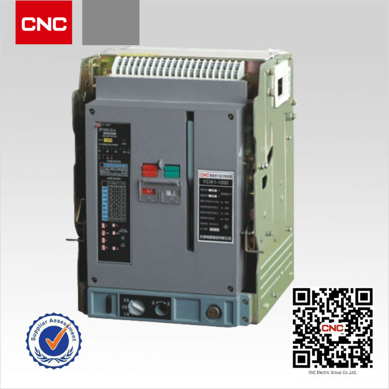 Intelligent Acb Ycw1 1000 Draw Out Air Circuit Breaker Buy Draw