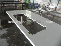 Prefab white composite quartz countertop wholesale