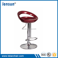 High quality plastic chairs office swivel chair commercial bar stool