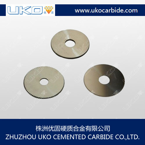 Ground and polished body finish Tungsten Carbide Saw Blades