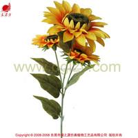 2015 new product silk flower artificial flower sunflower for autumn