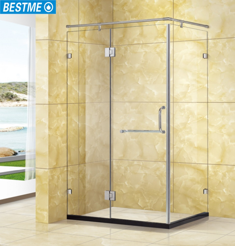 Simple Frameless Tempered Glass Shower Cubicles Enclosure Sri Lanka ...