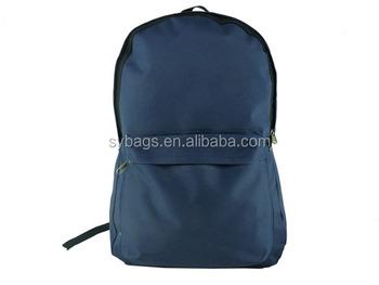 6e44fd4e36 plain blue school bag with pocketl   Children School Book Bags   Fashion  Student Shoulder Bag