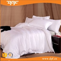 High quality Hotel's Solid White 600-Thread-Count 4pc Queen Bed Sheet Set