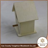 Eco-Friendly Carbonized Wood Bird Eggs Hatching Pet House