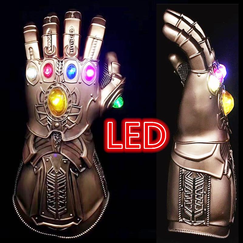 Avengers 3 Infinity War Infinity Gauntlet Thanos Gloves Cosplay Prop Halloween