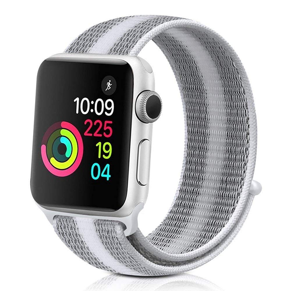 Stick Buckle Milanese Loop Woven Strap Watchband Nylon Watch Band Watch Band Set Watch Band 42mm Series 2 3 1 Watch Holder Watch Bands 38mm 42mm