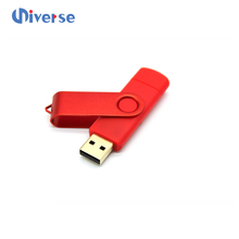 Promotional cheap usb 3.0 metal swivel cell phone usb flash drives