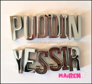 IN STOCK!! high quality hand polished Diy pet dog Collar letters silver letter charms 30mm slide letter