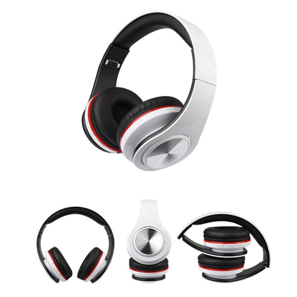 Folding Headphones with Microphone On Ear Noise Isolating Headsets for Iphone