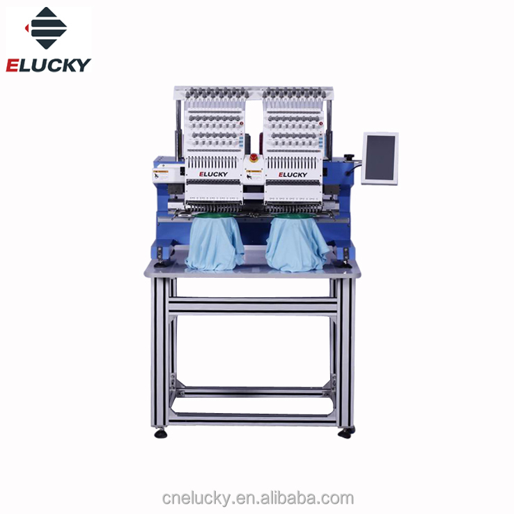 Elucky 2018 Sinsim Two Head Dahao Software Stickmaschine