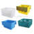 Different types plastic turnover crate, hard plastic crate for factory, unbreakable turnover box