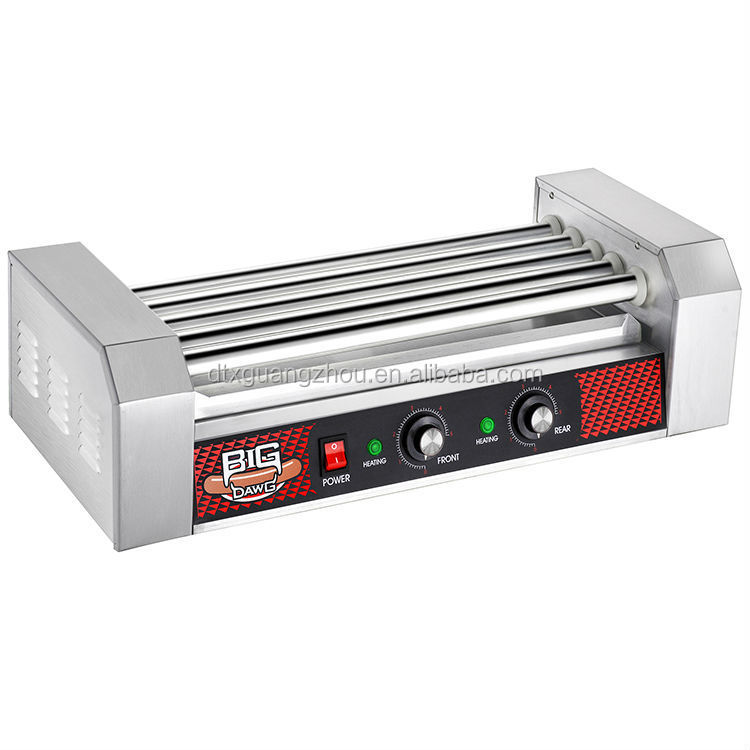 Grilling Sausage Hot dog Machine 11 Roller with Cover 30 GNP 4292
