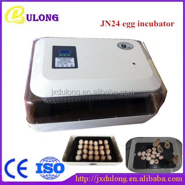 Holding 24 eggs easy to operate full automatic chicken egg hatching machine