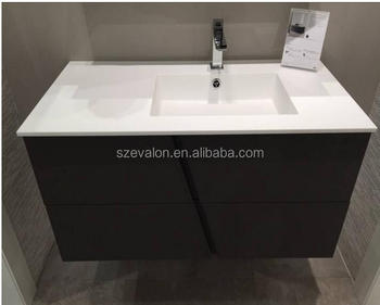 Pakistan Toilet Wash Basin Bathroom Basin Cabinet, Solid Surface Acrylic Cabinet  Basin