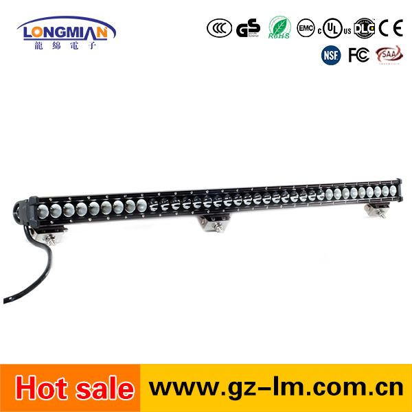 High quality single row 180w 4x4 led light bar offroad auto led light for trucks atv jeep suv